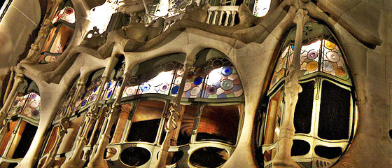 Barcelona has many attractions such as Casa Milà, mostly known as La Pedrera, designed by the architect Antoni Gaudí.